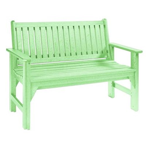 C.R. Plastic Products Adirondack - Lime Garden Bench