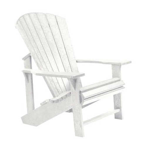 C.R. Plastic Products Adirondack - White Adirondack Chair