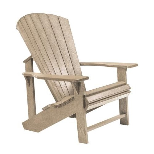 C.R. Plastic Products Adirondack - Beige Adirondack Chair