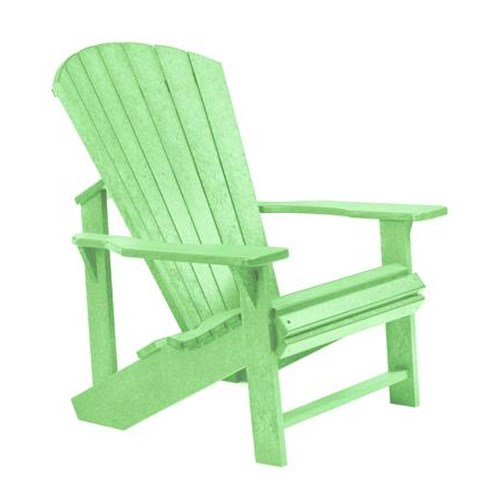 C.R. Plastic Products Adirondack - Lime Adirondack Chair