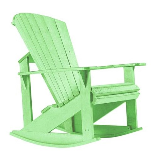 C.R. Plastic Products Adirondack - Lime Addy Rocker