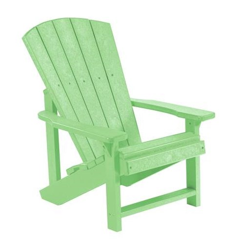 C.R. Plastic Products Adirondack - Lime Kid's Adirondack Chair