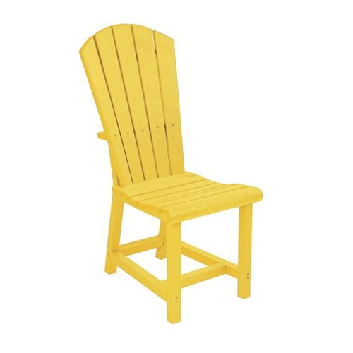 C.R. Plastic Products Adirondack - Yellow Addy Dining Side Chair