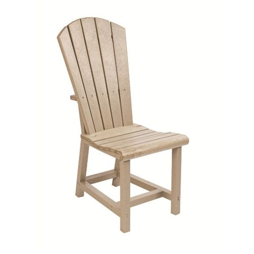 C.R. Plastic Products Adirondack - Beige Addy Dining Side Chair