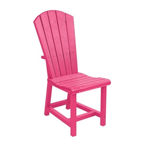 C.R. Plastic Products Adirondack - Fuschia Addy Dining Side Chair
