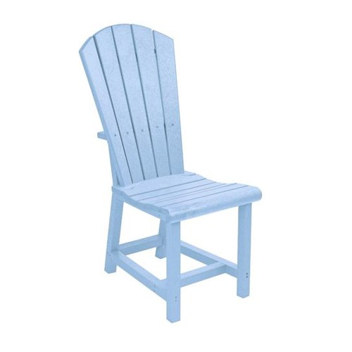 C.R. Plastic Products Adirondack - Sky Blue Addy Dining Side Chair