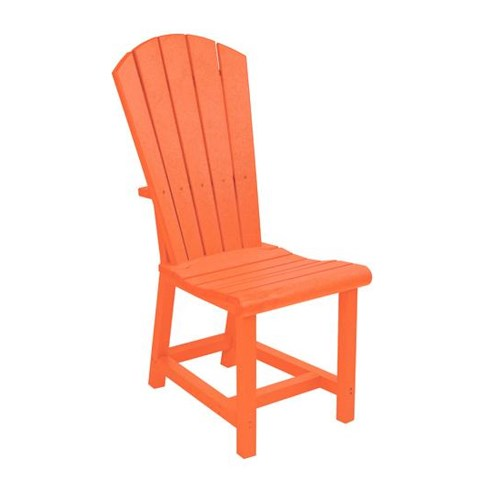 C.R. Plastic Products Adirondack - Orange Addy Dining Side Chair