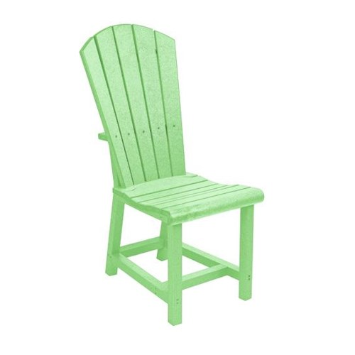 C.R. Plastic Products Adirondack - Lime Addy Dining Side Chair