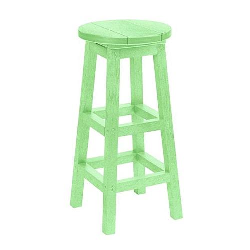 C.R. Plastic Products Adirondack - Lime Bar Stool