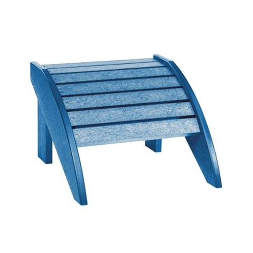 C.R. Plastic Products Adirondack - Blue Footstool