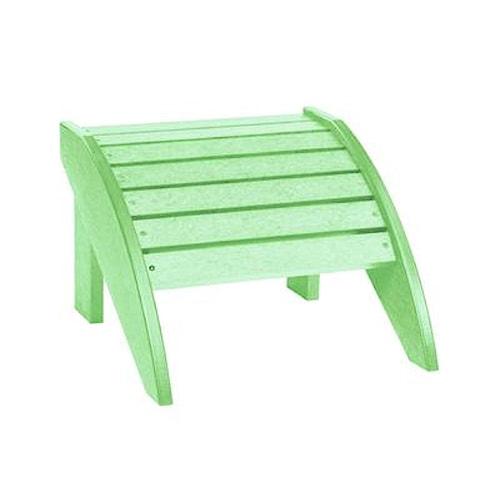 C.R. Plastic Products Adirondack - Lime Footstool