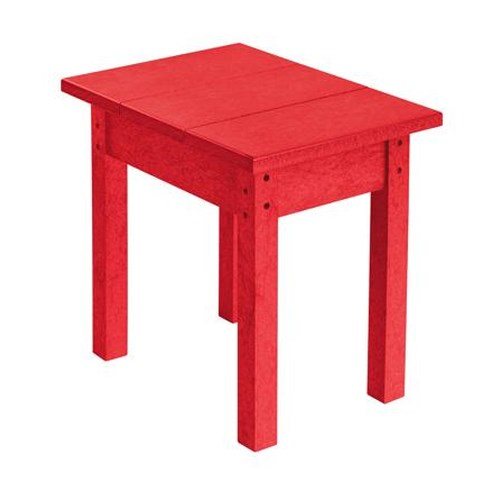 C.R. Plastic Products Adirondack - Red Small Table