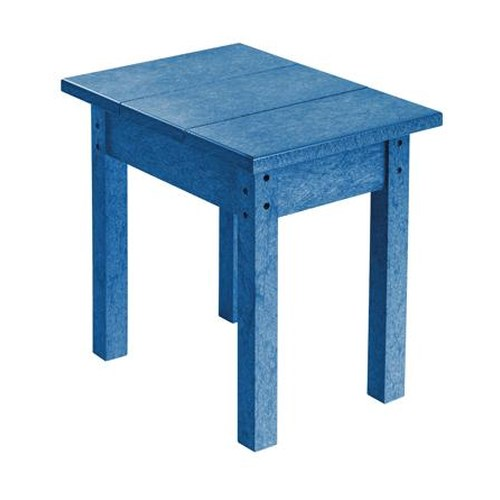 C.R. Plastic Products Adirondack - Blue Small Table
