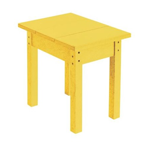 C.R. Plastic Products Adirondack - Yellow Small Table