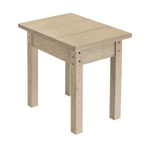 C.R. Plastic Products Adirondack - Beige Small Table
