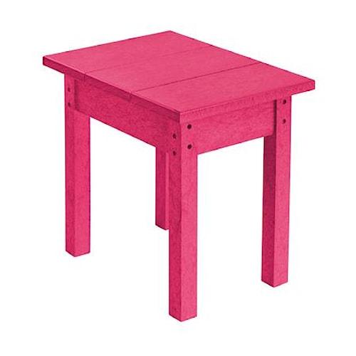 C.R. Plastic Products Adirondack - Fuschia Small Table