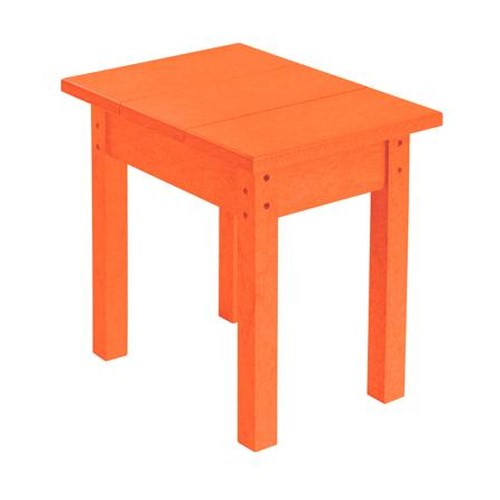 C.R. Plastic Products Adirondack - Orange Small Table