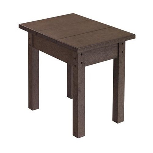 C.R. Plastic Products Adirondack - Chocolate Small Table