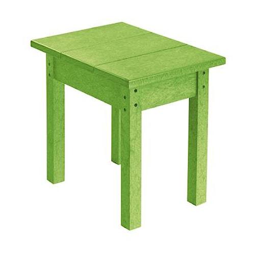 C.R. Plastic Products Adirondack - Kiwi Small Table