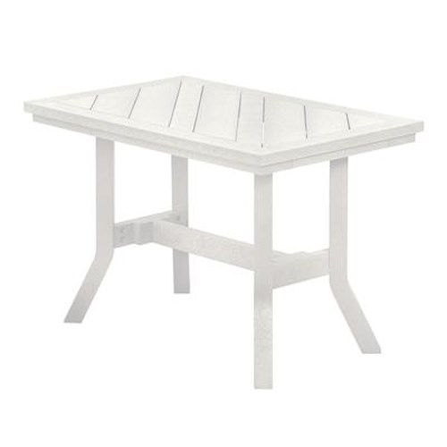 C.R. Plastic Products Adirondack - White Addy End Table