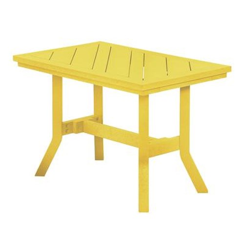 C.R. Plastic Products Adirondack - Yellow Addy End Table