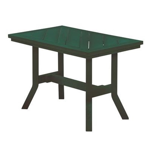 C.R. Plastic Products Adirondack - Green Addy End Table