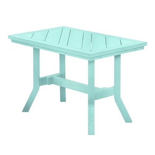 C.R. Plastic Products Adirondack - Aqua Addy End Table