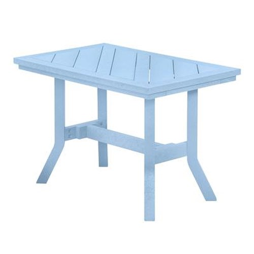 C.R. Plastic Products Adirondack - Sky Blue Addy End Table