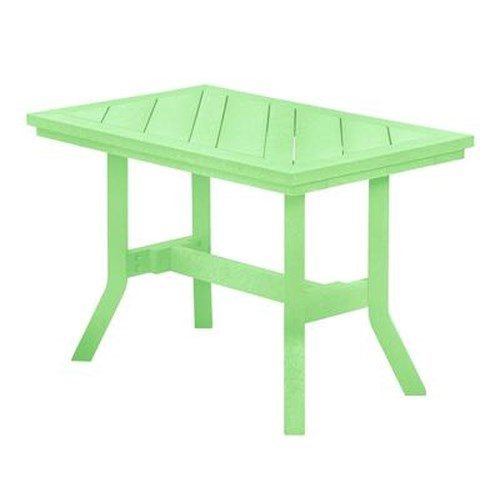C.R. Plastic Products Adirondack - Lime Addy End Table