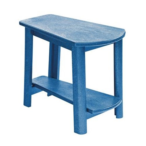 C.R. Plastic Products Adirondack - Blue Addy Side Table