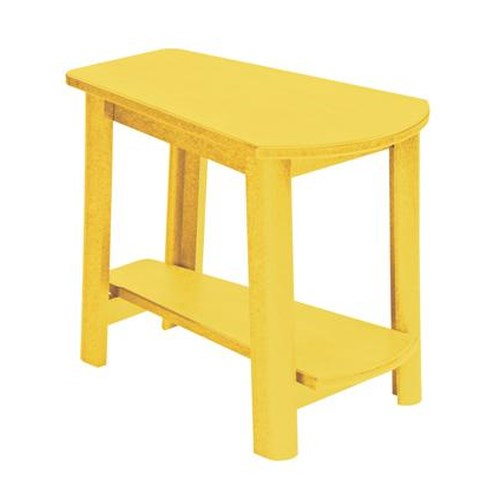 C.R. Plastic Products Adirondack - Yellow Addy Side Table