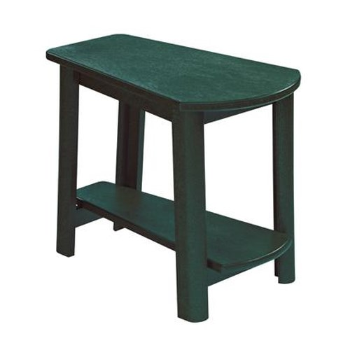 C.R. Plastic Products Adirondack - Green Addy Side Table