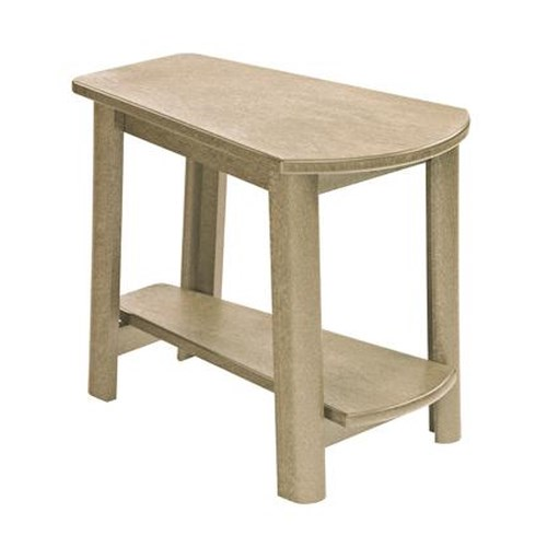 C.R. Plastic Products Adirondack - Beige Addy Side Table