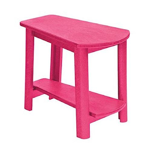 C.R. Plastic Products Adirondack - Fuschia Addy Side Table