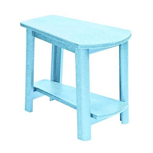 C.R. Plastic Products Adirondack - Aqua Addy Side Table