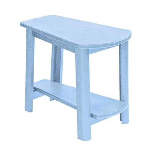 C.R. Plastic Products Adirondack - Sky Blue Addy Side Table