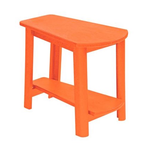 C.R. Plastic Products Adirondack - Orange Addy Side Table