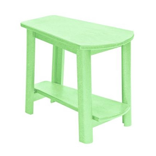 C.R. Plastic Products Adirondack - Lime Addy Side Table