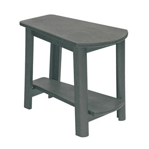 C.R. Plastic Products Adirondack - Slate Addy Side Table