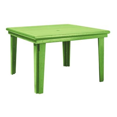 C.R. Plastic Products Adirondack - Kiwi Square Dining Table