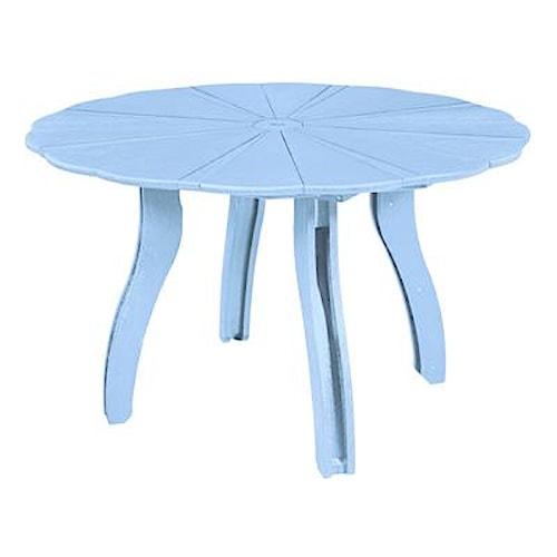 C.R. Plastic Products Adirondack - Sky Blue 52