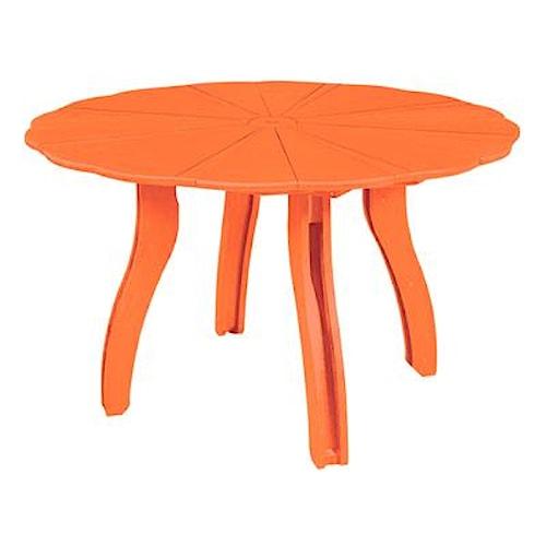 C.R. Plastic Products Adirondack - Orange 52