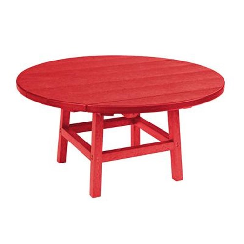 C.R. Plastic Products Adirondack - Red Cocktail Table