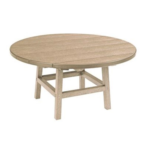 C.R. Plastic Products Adirondack - Beige Cocktail Table