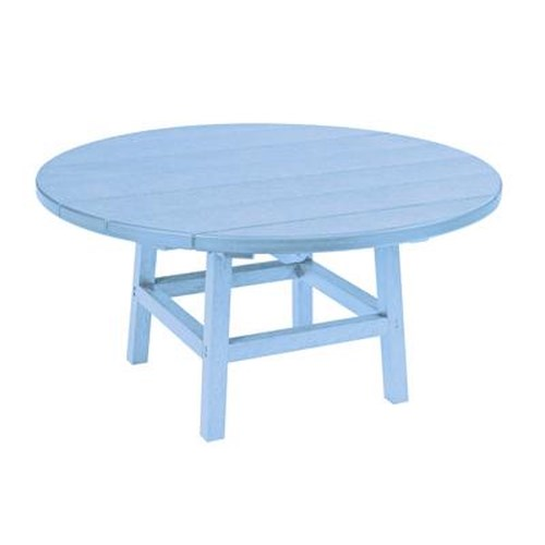 C.R. Plastic Products Adirondack - Sky Blue Cocktail Table