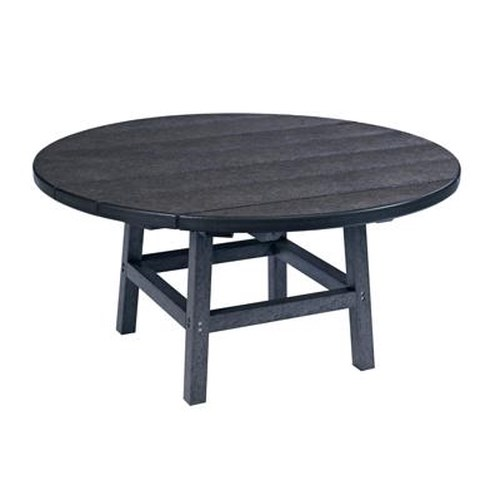 C.R. Plastic Products Adirondack - Black Cocktail Table