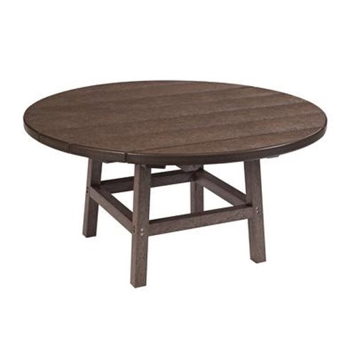 C.R. Plastic Products Adirondack - Chocolate Cocktail Table