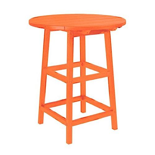 C.R. Plastic Products Adirondack - Orange 32