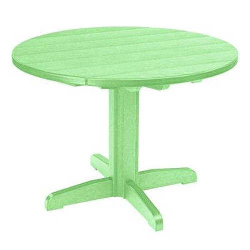 C.R. Plastic Products Adirondack - Lime Dining Pedestal
