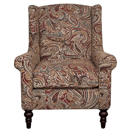 Morris Home Furnishings Rosemary Accent Chair